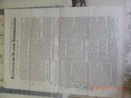 FIGEAC MARIVAL LEYME LACAPELLE AFFICHE SAISIE LACAM ETUDE DE ME VIVAL SIGNATURES DES MAIRES AU VERSO 1879