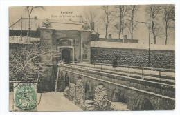 CPA 54 Longwy Porte De France En Hiver - Longwy