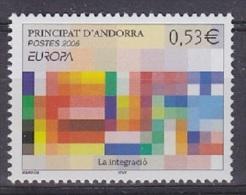 Europa Cept 2006 Andorra Fr 1v ** Mnh (S169) - Europa-CEPT