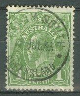 AUSTRALIA 1931-36: SG 125 / YT 77A, o - FREE SHIPPING ABOVE 10 EURO