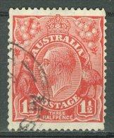AUSTRALIA 1926-30: SG 96 / YT 52 A, d. 13 1/2 : 12 1/2, o - FREE SHIPPING ABOVE 10 EURO