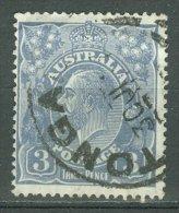 AUSTRALIA 1926-30: SG 90 / YT 54 B, d. 14, o - FREE SHIPPING ABOVE 10 EURO
