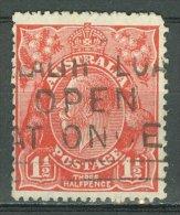 AUSTRALIA 1926-30: SG 87 / YT 52 B, d. 14, o - FREE SHIPPING ABOVE 10 EURO