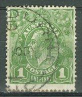 AUSTRALIA 1926-30: SG 86 / YT 51 B, d. 14, o - FREE SHIPPING ABOVE 10 EURO
