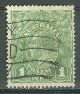 AUSTRALIA 1926-30: SG 86 / YT 51 B, D. 14, O - FREE SHIPPING ABOVE 10 EURO - 1913-36 George V: Heads