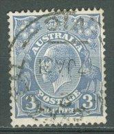 AUSTRALIA 1926-30: SG 100 / YT 54 A, d. 13 1/2 : 12 1/2, o - FREE SHIPPING ABOVE 10 EURO