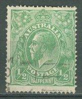 AUSTRALIA 1918: SG 48 / YT 32, o - FREE SHIPPING ABOVE 10 EURO