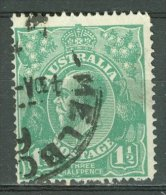 AUSTRALIA 1918-23: SG 61 / YT 24, o - FREE SHIPPING ABOVE 10 EURO
