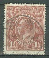 AUSTRALIA 1918-23: SG 60 / YT 23, o - FREE SHIPPING ABOVE 10 EURO