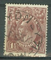 AUSTRALIA 1918-23: SG 59 / YT 22, o - FREE SHIPPING ABOVE 10 EURO
