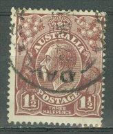 AUSTRALIA 1918-23: SG 59 / T 22, o - FREE SHIPPING ABOVE 10 EURO