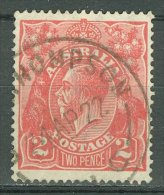 AUSTRALIA 1918-20: SG 63 / YT 26, o - FREE SHIPPING ABOVE 10 EURO