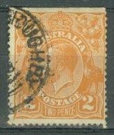 AUSTRALIA 1918-20: SG 62 / YT 25, o - FREE SHIPPING ABOVE 10 EURO