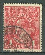 AUSTRALIA 1914-20: SG 21 / YT 20, o - FREE SHIPPING ABOVE 10 EURO
