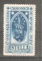 Viñeta Coronacion Canonica. - España
