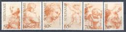 1983 SURINAM 895-900** Art, Rapha�l