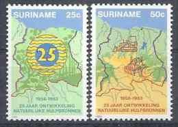 1983 SURINAM 907-8** Ressources