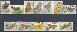 1983 SURINAM 909-20** Papillons, peintures