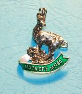 MUTKOPF M.1780 - Souvenir- Abzeichen, Pins, Badge - Souvenirs