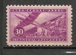 CUBA - Posta Aérienne - Air Mail  - Yvert # A 127 -  * MINT (Light Trace Of Hinge) - Airmail