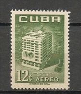 CUBA - Posta Aérienne - Air Mail  - Yvert # A 133 -  * MINT (Light Trace Of Hinge) - Airmail