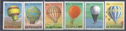 1983 SURINAM 921-26** Ballons, Mongolfière - Surinam