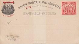 PERU : ENTIER POSTCARD (H&G) 28 - New - Pérou