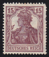 GERMANY - Scott #100 Germania / Mint NG Stamp - Germany