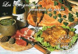 Recette - Les Beignets De Pommes De Terre, Couteau Opinel - R 20 Bis - Editions SECA - TBE - Recipes (cooking)
