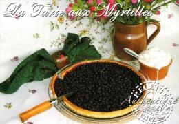 Recette - La Tarte Aux Myrtilles, Couteau Opinel - R 34 Bis - Editions SECA - TBE - Recipes (cooking)