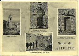 AIDONE  ENNA  Saluti Da..  Chiesa S. Antonio  Chiesa S. Giovanni - Enna