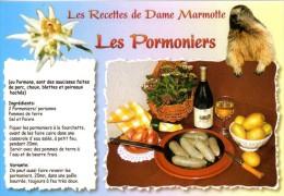 Recette De Dame Marmotte - Les Pormoniers (saucisses), Couteau Opinel - R 40 - Editions SECA - TBE - Recipes (cooking)