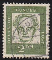 GERMANY - Scott #839 Gerhart Heuptmann (*) / Used Stamp - BRD