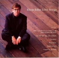 Love Songs - Ballades Et Mots D'amour Elton John - Music & Instruments