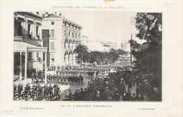 Obsèques De Castelar à Madrid  Escorte D´honneur  1899 - Documentos Antiguos