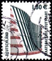GERMANY - Scott #2208 Stuttgart Staatsqalerie / Used Stamp - Used Stamps