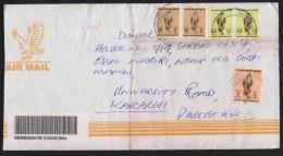 Birds Of Prey, Postal History Cover Registered From United Arab Emirates UAE - Eagles & Birds Of Prey