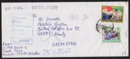 RETURN TO SENDER COVER - From PAKISTAN To KAZAKSTAN Used 2005, Interesting Postmarking On Reverse. - Sin Clasificación