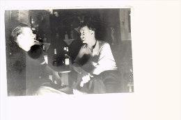 Photo  Format CPA ,  Intérieur De  Café, Bar. Non Situé - Cartes Postales