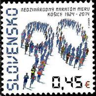 Slovakia - 2014 - 90th Anniversary Of The International Peace Marathon In Kosice - Mint Stamp - Slovakia