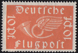 GERMANY - Scott #C1 Post Horn With Wings (*) / Mint H Stamp - Unused Stamps