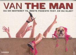 Free Card Advertising Postcard, Van The Man, Ryan Reynolds, Tara Reid, Rental Release Denmark, 312 - Posters On Cards