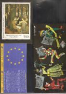 Calendrier Des Parutions   De 1992 & 1993   Voir Les 2 Scans - Documentos Del Correo