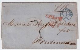 1856, Hannover, Selt. Vertrags-Stp.! , #2961 - Hanover