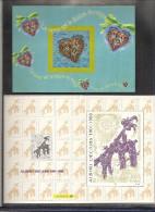 Calendrier Des Parutions   De  2001   Voir Les 2 Scans - Documentos Del Correo
