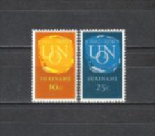 Suriname 1970 Geschichte Organisationen Vereinte Nationen UNO ONU Zusammenarbeit Edelsteine, Mi. 579-0 ** - Suriname