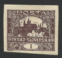 Czechoslovakia, 1 H. 1919, Sc # 23, Mi # 18a, MH - Czechoslovakia