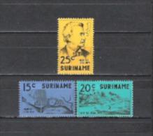Suriname 1971 Organisationen Stiftungen Persönlichkeiten August Kappler Albina Bauwerke Flüsse Marowyne, Mi. 613-5 ** - Suriname