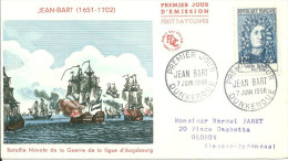 Dunkerque 07 06 1958 Jean Bart - FDC