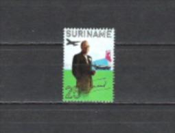 Suriname 1971 Geschichte Persönlichkeiten Royals Herrscherhäuser Prinz Bernhard Niederlande Holland, Mi. 604 ** - Suriname